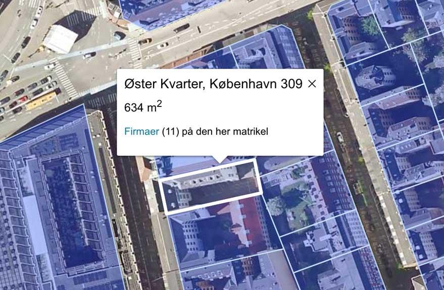 Matrikelkort på krak.dk